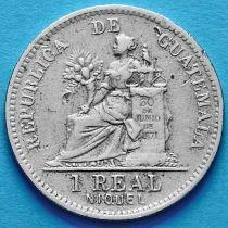 Гватемала 1 реал 1911 год.