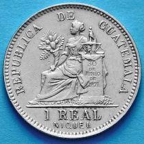 Гватемала 1 реал 1912 год.