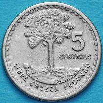 Гватемала 5 сентаво 1974 год.