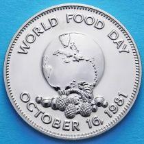 Ямайка 1 доллар 1981 год. ФАО.