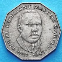 Ямайка 50 центов 1975-1987 год. Маркус Гарви.