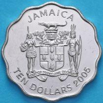 Ямайка 10 долларов 2005 год. Джордж Гордон