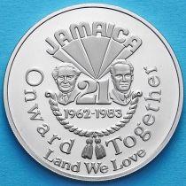 Ямайка 1 доллар 1983 год. Независимость.