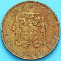 Ямайка 1 пенни 1966 год.