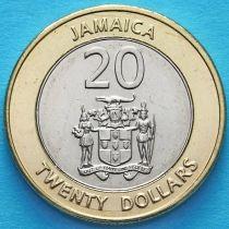 Ямайка 20 долларов 2000 год.