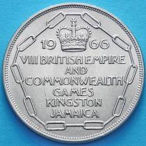 Ямайка 5 шиллингов 1966 год. VIII Игры Содружества.