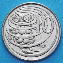 Каймановы о-ва 10 центов 1982 год