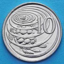 Каймановы о-ва 10 центов 1999-2008 год