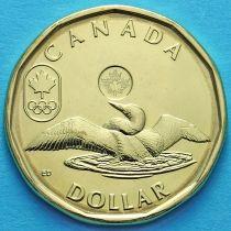Канада 1 доллар 2014 год. Олимпийские Игры, Сочи 2014.
