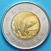 Канада 2 доллара 2006 год. 10 лет чеканки.