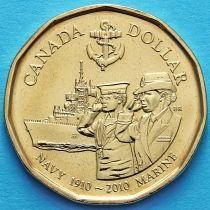 Канада 1 доллар 2010 год. Королевский флот Канады.