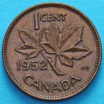 Канада 1 цент 1950-1952 год.