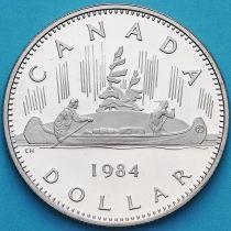 Канада 1 доллар 1984 год. Пруф.