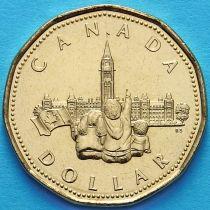Канада 1 доллар 1992 год. Парламент.