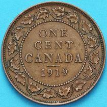 Канада 1 цент 1919 год.