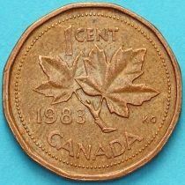 Канада 1 цент 1983-1987 год.