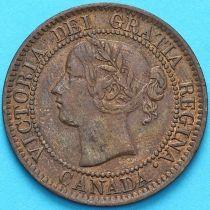 Канада 1 цент 1859 год.