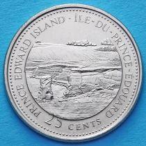 Канада 25 центов 1992 год. Остров Принца Эдварда.