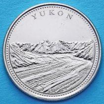 Канада 25 центов 1992 год. Юкон.