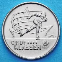 Канада 25 центов 2009 год. Синди Классен.