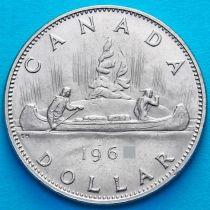 Канада 1 доллар 1968 год. Каноэ.