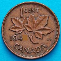 Канада 1 цент 1942 год.