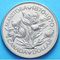 Канада 1 доллар 1970 год. Манитоба.