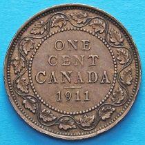 Канада 1 цент 1911 год.