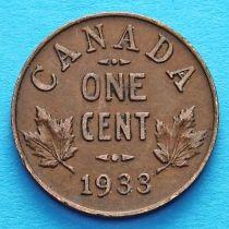 Канада 1 цент 1920-1936 год.