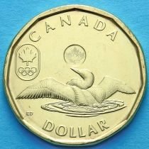 Канада 1 доллар 2012 год. Олимпиада 2012