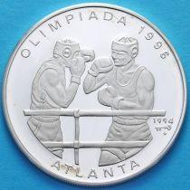 Куба 10 песо 1994 год. Бокс. Серебро.