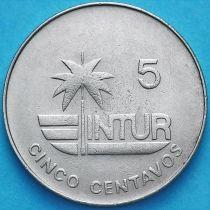 Куба 5 сентаво 1981 год. INTUR. KM# 412.1