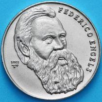 Куба 1 песо 2002 год. Фридрих Энгельс.