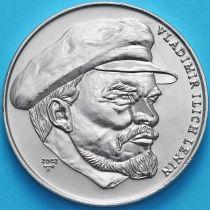 Куба 1 песо 2002 год. В. И. Ленин.