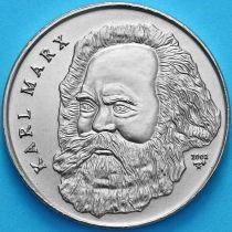 Куба 1 песо 2002 год. Карл Маркс.
