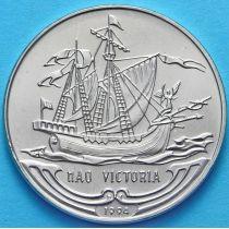 Куба 1 песо 1994 год. Виктория.