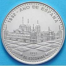 Куба 1 песо 1992 год. Эль Эскориаль.