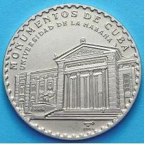 Куба 1 песо 2004 год. Университет в Гаване.