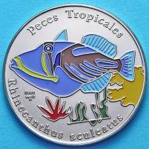 Куба 1 песо 2005 год. Спинорог Пикоссо. Эмаль
