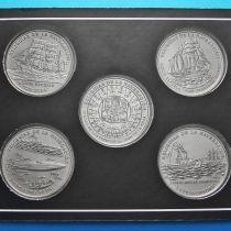 Куба набор 5 монет 1 песо 2000 год. Навигация.