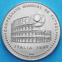 Куба 1 песо 1989 год. Чемпионат Мира по футболу.