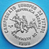 Куба 1 песо 1988 год. ЧЕ по футболу. №2
