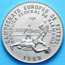Куба 1 песо 1988 год. ЧЕ по футболу. №1