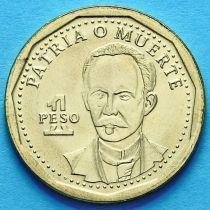 Куба 1 песо 2014 год.