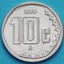 Мексика 10 сентаво 1992-2009 год.