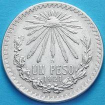 Мексика 1 песо 1921 год. Серебро.