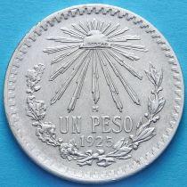 Мексика 1 песо 1925 год. Серебро.