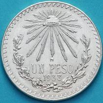 Мексика 1 песо 1933 год. Серебро.