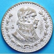 Мексика 1 песо 1962 г. Хосе Морелос. Серебро