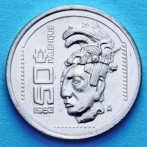 Мексика 50 сентаво 1983 год. Культура Паленке.